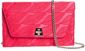 Akris Anouk Envelope Lips Embroidery Clutch Bag