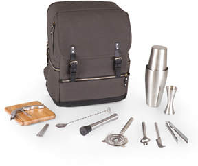 Picnic Time Gray Bar Backpack Cocktail Tote