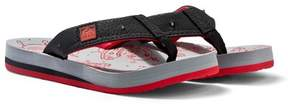 Reef Grey and Red Ahi Light-Up Print Sandals