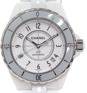 Chanel J12 H4465 Ceramic & Stainless Steel Automatic 38mm Mens Watch