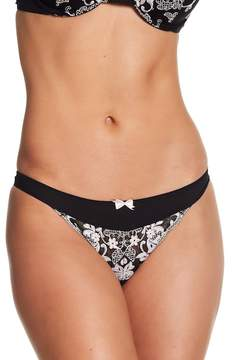 Felina Priscilla Floral Embroidered Thong