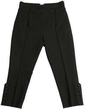 DSQUARED2 Stretch Tuxedo Wool Pants