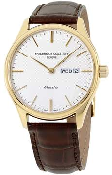 Frederique Constant Classics FC225ST5B5 Yellow Gold Plated Stainless Steel 40mm Mens Watch