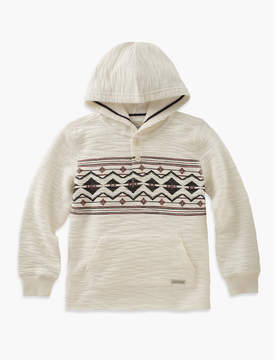 Lucky Brand PULLOVER HOODY WITH CHEST PRINT
