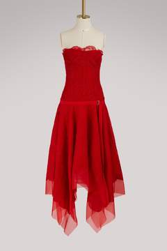 Alexander McQueen Lace maxi dress