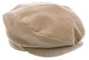 Paul Smith Velvet Driving Hat