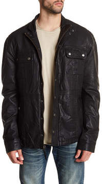 Cult of Individuality Leather Moto Jacket