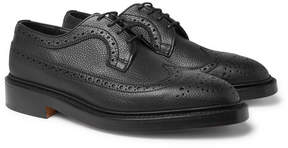 Tricker's Richard Pebble-Grain Leather Brogues