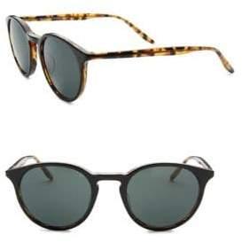 Barton Perreira Round Sunglasses