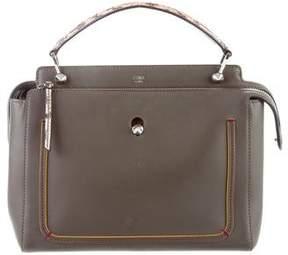Fendi 2016 Leather and Elaphe DOTCOM Bag