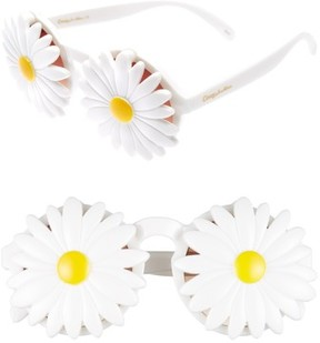 Sam Edelman Women's Daisy 45Mm Round Sunglasses - White