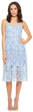 Donna Morgan Spaghetti Strap Lace Midi Dress Women's Dress