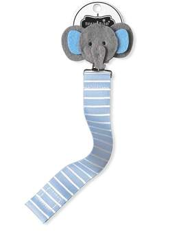 Mud Pie Elephant Pacifier Clip