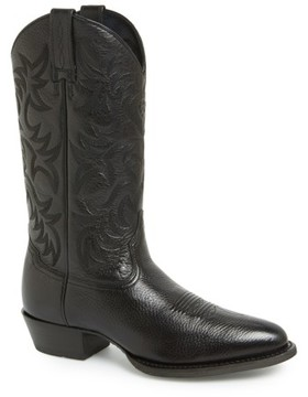 Ariat Men's 'Heritage' Leather Cowboy R-Toe Boot