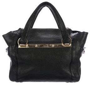 Chloé Grained Leather Satchel