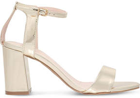Carvela Gigi cut-out mirrored sandals