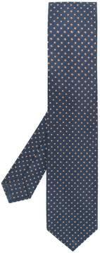 Barba square pattern tie