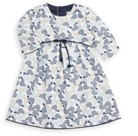 Isabel Garreton Baby's Turtle Print Cotton Dress