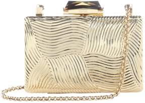 Kotur Gold Plastic Clutch Bag
