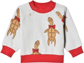 Mini Rodini Grey Turtle Sweatshirt