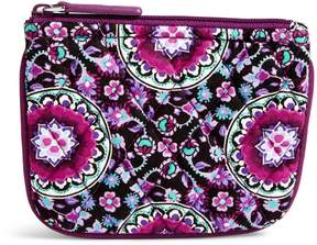 Vera Bradley Coin Purse - PAISLEY STRIPES - STYLE