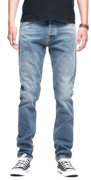Nudie Jeans Men's Fearless Freddie Slim Straight Leg Jeans