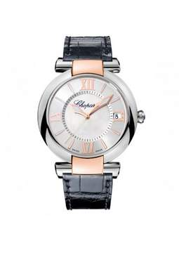 Chopard Imperiale Silver Toned Mother of Pearl Dial Men's Watch