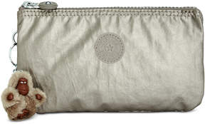 Kipling Creativity Small Pouch - METALLIC PEWTER - STYLE