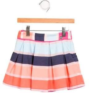 Paul Smith Girls' Pleated Striped Skirt