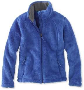 L.L. Bean L.L.Bean Girls' Hi-Pile Fleece Jacket