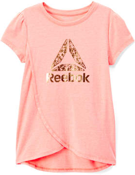 Reebok Papaya Punch 'Reebok' Delta Shine Tee - Toddler & Girls