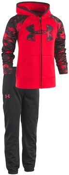 Under Armour Toddler Boy 2-pc. Cloudy Grid Hooded Jacket & Pants Set