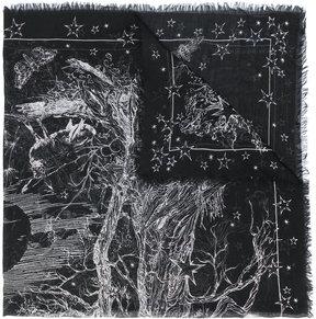 Alexander McQueen Stars scarf