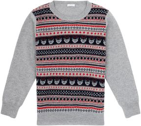 Il Gufo Fairisle Sweater