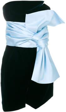 Alexandre Vauthier oversized bow dress