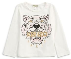 Kenzo Girl's Tiger Tee