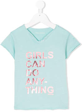 Zadig & Voltaire Kids girls can do anything T-shirt