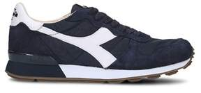 Diadora Heritage Men's Blue Polyamide Sneakers.