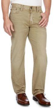 Lucky Brand 363 Straight Khaki Pants