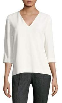 BOSS Ilamara Three-Quarter Sleeve Blouse