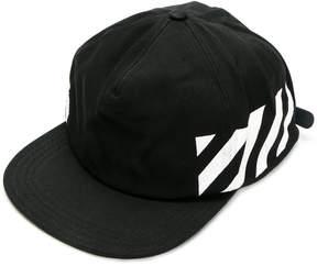 Off-White Black diagonals cap