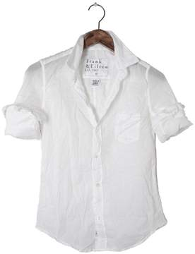 Frank And Eileen Womens Barry Cotton Voile Button Down Shirt