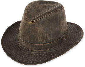 JCPenney INDIANA JONES Indiana Jones Weathered Cotton-Blend Fedora Hat