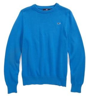 Vineyard Vines Boy's Classic Crewneck Sweater