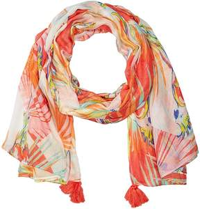 Echo Birds of Paradise Wrap Scarves