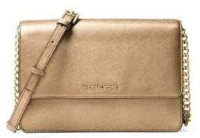MICHAEL Michael Kors LG Gusset Leather Crossbody Bag