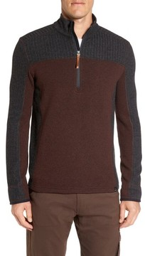 Prana Men's Wentworth Quarter Zip Pullover