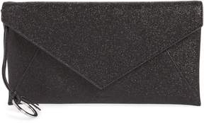 AllSaints Voltaire Large Envelope Leather Clutch