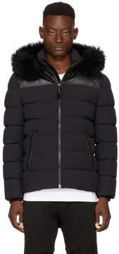 Mackage SSENSE Exclusive Black Down Ronin Jacket
