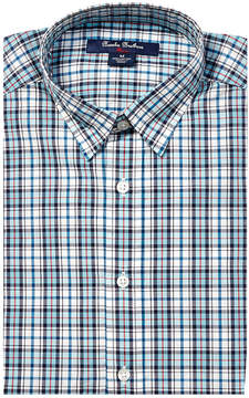 Brooks Brothers Boys' Crossing Plaid Woven Shirt